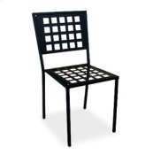 Armless Side Chair (Stackable) - Metal