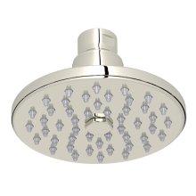 "Polished Nickel 4"" Rodello Circular Rain Showerhead"