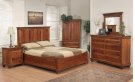 """Queen Panel Bed With Boat Rails And Boat Footboard 70""""Wx58""""Hx86""""L Product Image"""