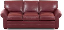 Troupe Three Cushion Leather Sofa
