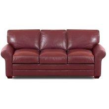 Troupe Three Cushion Leather Sofa