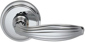 Interior Traditional Lever Latchset in (US26 Polished Chrome Plated)