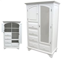 Chesapeake Mirrored Armoire