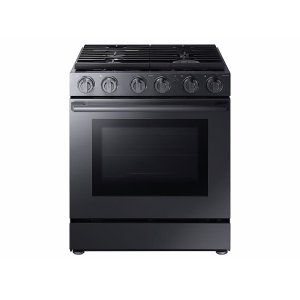 "Samsung Appliances5.8 cu. ft. 30"" Gas Chef Collection Pro Range with Dual Convection"