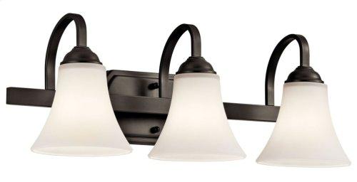 Keiran 3 Light Vanity Light Olde Bronze®