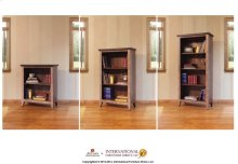 Set of 2 extra Shelves for Bookcase & Supports