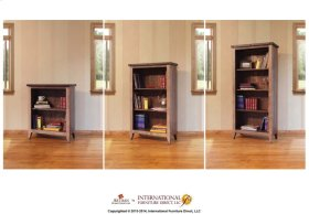 Bookcase, 9 different positions available for shelves (2)*