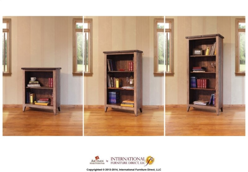 Set Of 2 Extra Shelves For Bookcase Supports