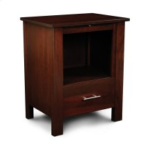 East Village Deluxe Nightstand with Opening