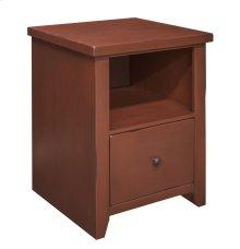 Calistoga Red File Cabinet