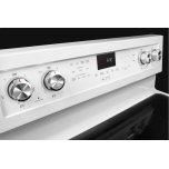 Kitchenaid 30-Inch 5-Element Electric Convection Range - White