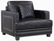 "Ferrara Leather Chair - 39.5""L x 35""D x 34""H"