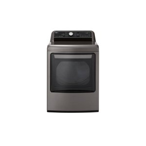 LG 鸭博娱乐s7.3 cu.ft. Smart wi-fi Enabled Gas Dryer with TurboSteam™