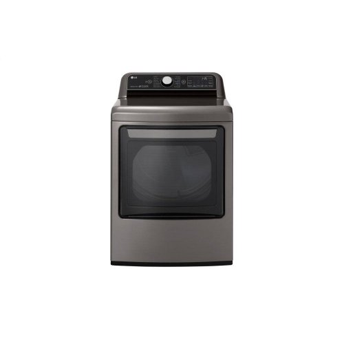 7.3 cu.ft. Smart wi-fi Enabled Gas Dryer with TurboSteam