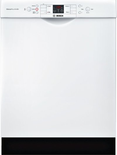 """ADA 24"""" 300 Series Recessed Hndl, 4/4 Cycles, 46 dBA, RckMatic, 14 Pl Stgs - WH Product Image"""