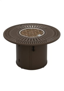 """Spectrum 43"""" Round Fire Pit, Manual Ignition"""