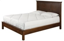 Queen Bed W/Low Profile Footboard