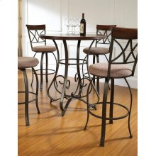 5-Pc. Hamilton Pub Table Set with 4 Swivel Bar Stools - (1) 697-404 + (4) 697-481