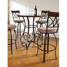 5-Pc. Hamilton Pub Table Set with 4 Swivel Bar Stools - (1) 697-404 + (4) 697-481