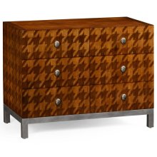 Houndstooth Chest of Drawers