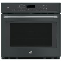 "Floor Model - GE Cafe Series 30"" Built-In Single Convection Wall Oven"