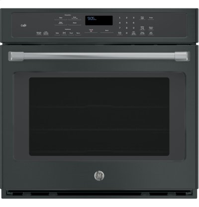 "GE Café Series 30"" Built-In Single Convection Wall Oven Product Image"