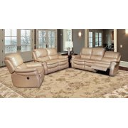 POWER SOFA & LOVESEAT - JUNO SAND Product Image