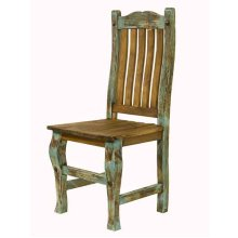 """Painted """"Mexican Chic"""" chair"""