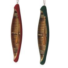 Canoe Ornament (2 asstd).