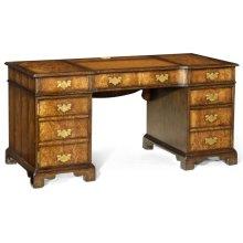 George I Style Pedestal Desk