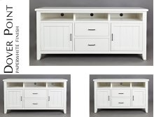 "Dover Point 60"" Media Console - Paperwhite"