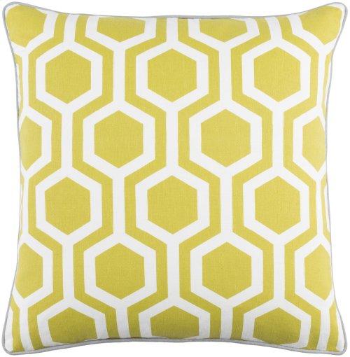 "Inga INGA-7012 18"" x 18"" Pillow Shell Only"