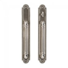 """Corbel Arched Patio Sliding Door set - 2"""" x 14"""" Silicon Bronze Brushed"""