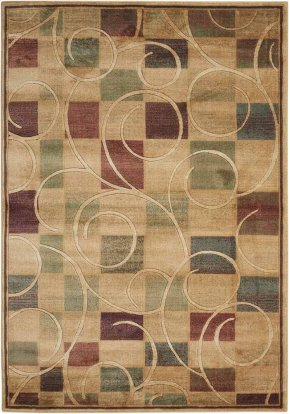 EXPRESSIONS XP01 BGE RECTANGLE RUG 5'3'' x 7'5''