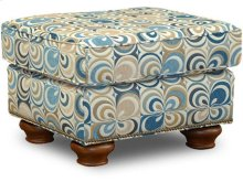 Jeremie Ottoman with Nails 7237N