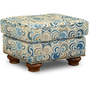 England Furniture Jeremie Ottoman With Nails 7237n