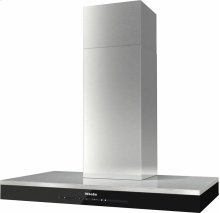 DA 6698 W Puristic Edition 6000 Wall ventilation hood with energy-efficient LED lighting and touch controls for simple operation.