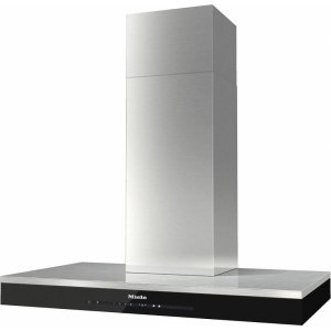 MieleDA 6698 W Puristic Edition 6000 Wall ventilation hood with energy-efficient LED lighting and touch controls for simple operation.