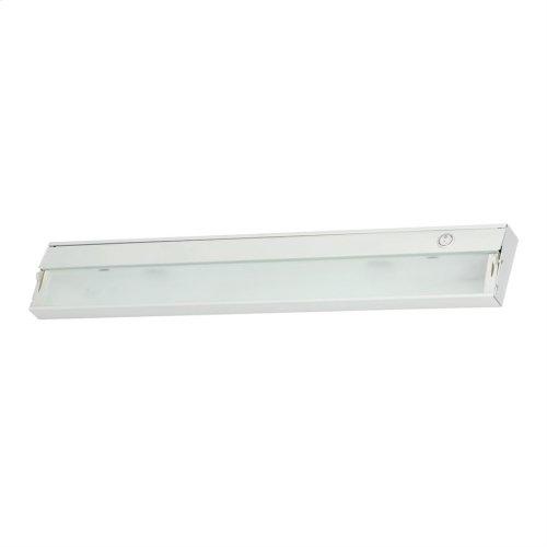 Zee-Lite Xenon 12V - 3 light, 26-inch w / lamps. White finish.