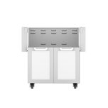 "Hestan30"" Hestan Outdoor Tower Cart with Double Doors - GCD Series - Froth"