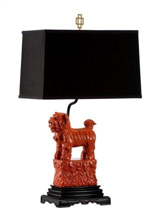 Foo Foo Lamp - Red (left)