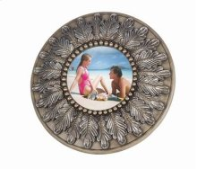 Beads & leaf picture frame