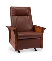 McCoy Rocker/Recliner, Fabric Cushion Seat