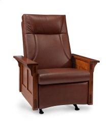 McCoy Rocker/Recliner, Fabric Cushion Seat