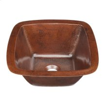 Picasso II Fired Copper Bath Sink