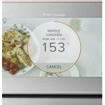 "GE 27"" Smart Single Wall Oven With Convection In Platinum Glass"