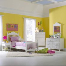 Lauren 5pc Twin Post Bedroom Suite