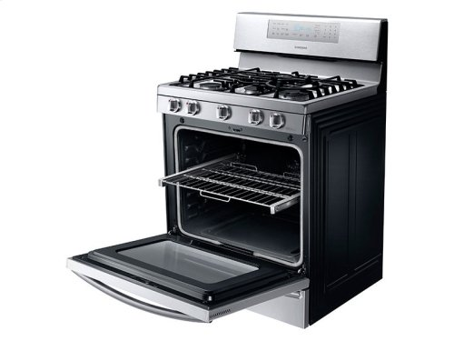Floor Model Clearance! 5.8 cu. ft. Gas Range with True Convection