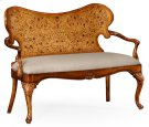 Seaweed Marquetry Loveseat (Fabric) Product Image