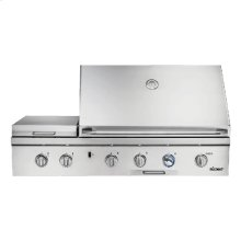 """Heritage 52"""" Outdoor Grill with Infrared Sear Burner, Stainless Steel, Liquid Propane"""